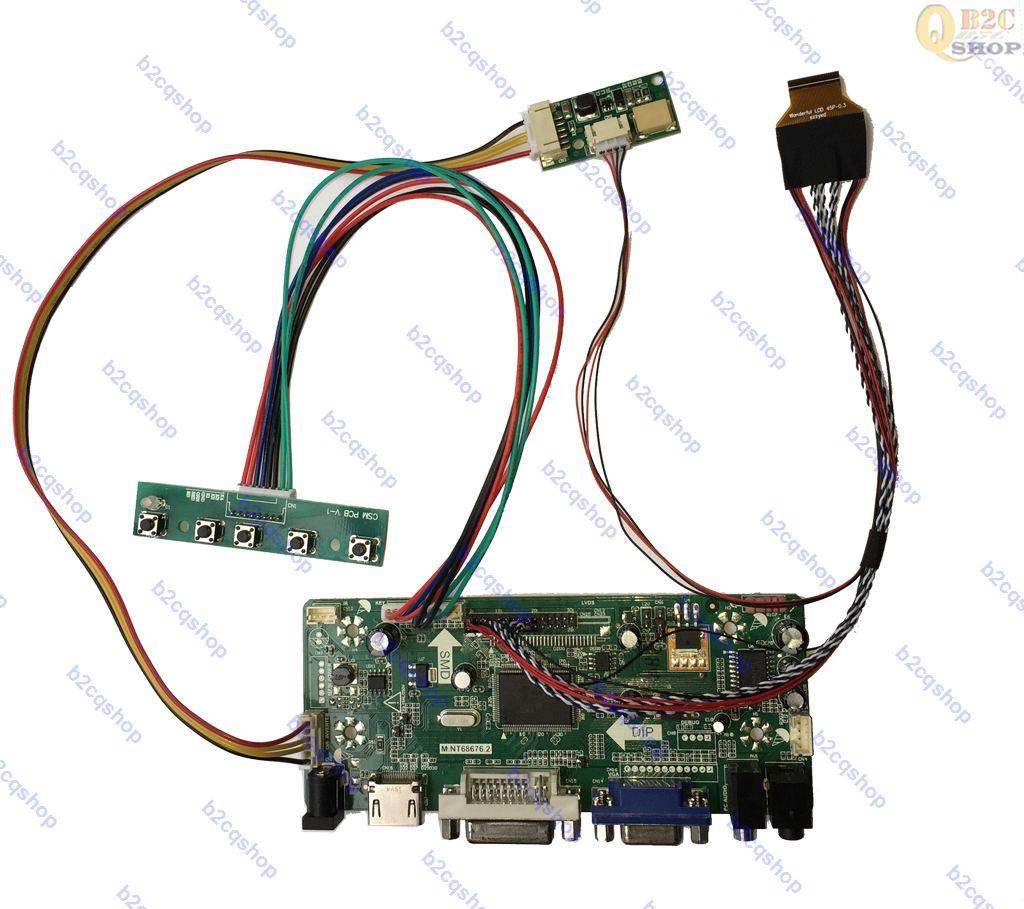 HDMI+DVI+VGA LCD Controller Driver Board Inverter Kit for1280X1024 LM190E03-TLB4