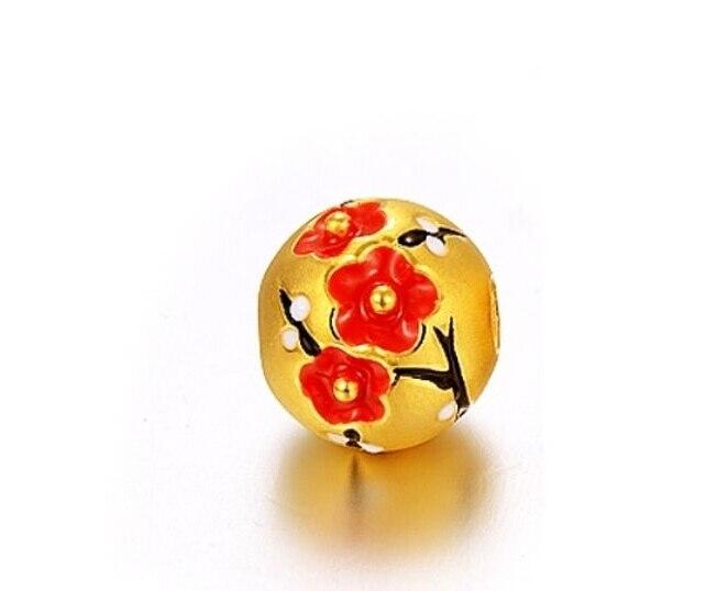 Здесь можно купить  1PCS Pure 24k Yellow Gold Pendant/ 3D Craved Women Pendant /1g  Ювелирные изделия и часы