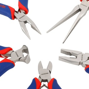 Image 4 - WORKPRO 5PCS Mini Precision Pliers Set Jewellery Pliers Diagnoal Pliers Cutter DIY Tool wire stripper multitool crimping tool