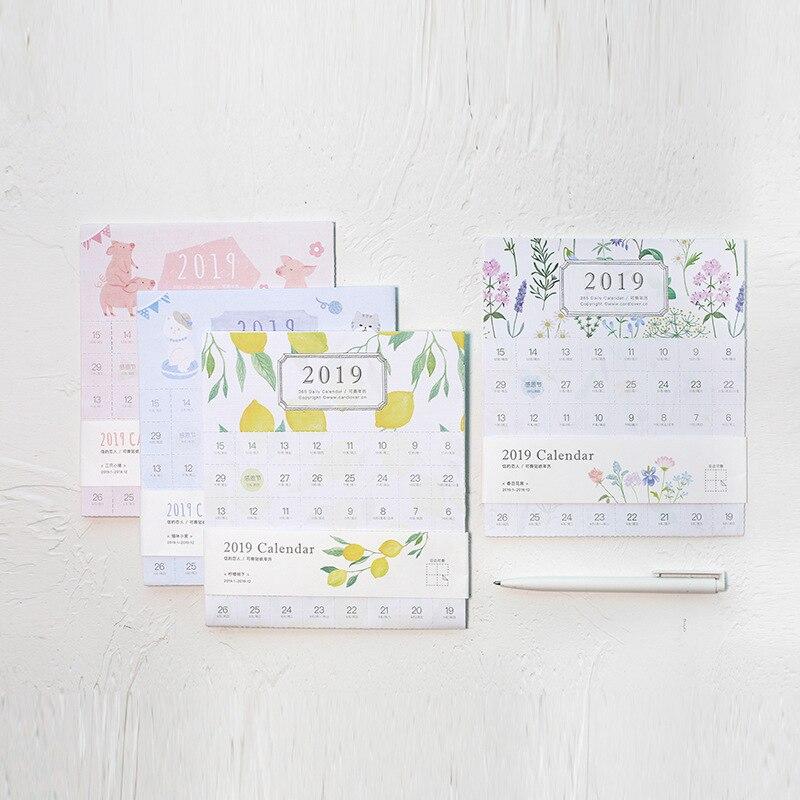 Calendario Diario 2019.1 93 7 De Descuento Aliexpress Com Comprar 2019 Ano 365 Calendario Diario Pegatina De Indice Diy Decorativo Viajero Cuaderno Etiqueta