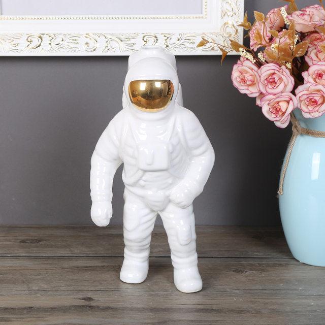 Online-Shop Star Wars Roboter Astronaut Dekoration weiß goldsplitter ...