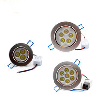 Dimmable led downlight 9W 12W 15W 21W Recessed lighting lamp AC85 265V led cabinet bulb Spotlight LED Ceiling light
