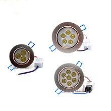 ניתן לעמעום led downlight 9 W 12 W 15 W 21 W שקוע תאורת מנורת AC85 265V led קבינט הנורה זרקור LED תקרת אור