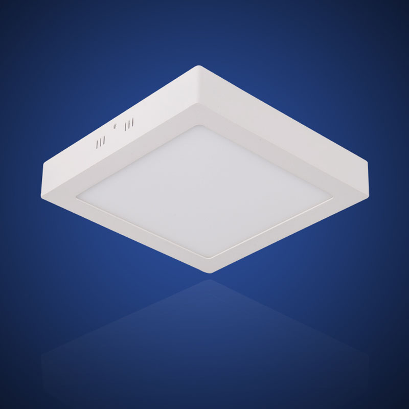 eiceo square surface mounted led ceiling light panel downlight flat modern lamp 3w 6w 12w 18w. Black Bedroom Furniture Sets. Home Design Ideas