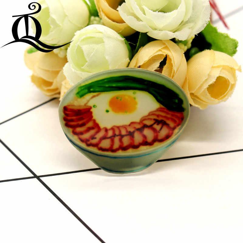 Frete grátis 1 PCS broche dos desenhos animados misturar alimentos Ícones Na mochila Acrílico Emblemas Emblemas do Pino Para A Roupa Dos Desenhos Animados Decoração Crachá 41