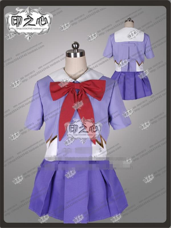New Clothes Anime The Future Diary Gasai Yuno Cosplay Dress Mirai Nikki 2nd Uniform Cosplay Costume School Uniform Shirt+skirt