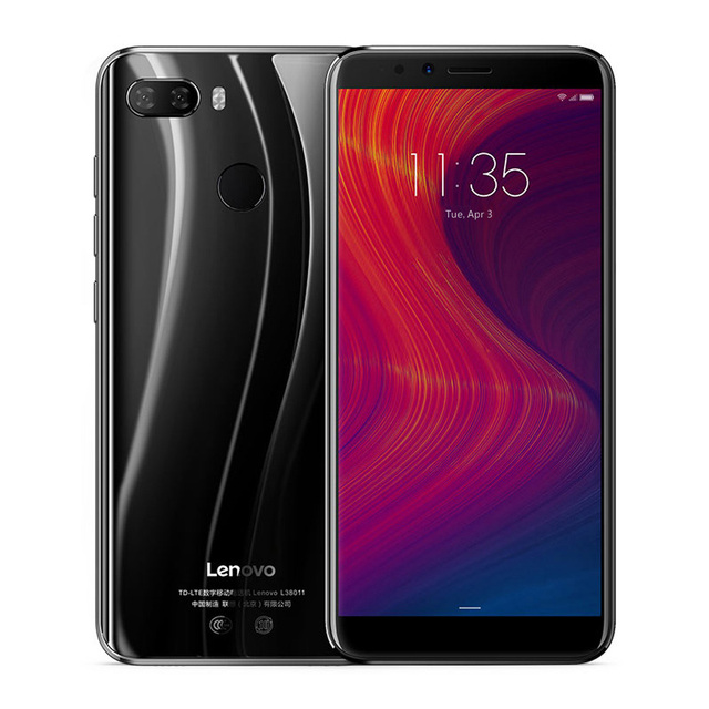 "Lenovo K5 Play L38011 3GB 32GB 4G Mobile Phone 5.7"" Snapdragon MSM8937 Octa Core Rear Camera 13MP+2MP Front Camera 8MP"