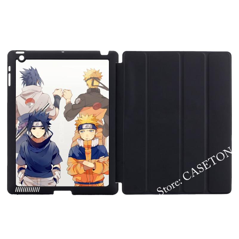 Naruto Shippuden Manga Anime Stand Folio Cover Case For Apple iPad Mini 1 2 3 4 Air Pro 9.7