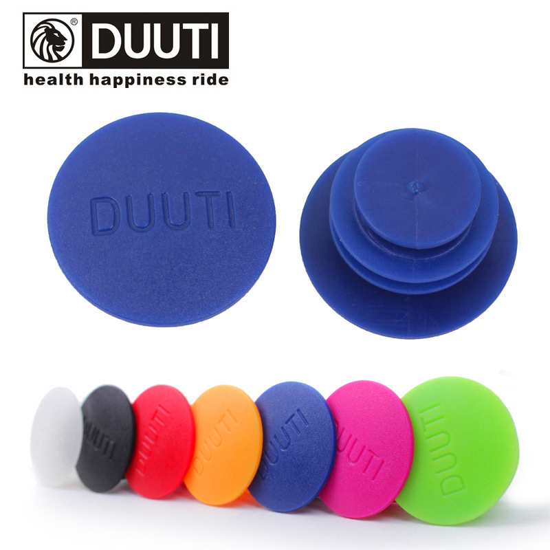 DUUTI 7 Colors Mountain Bicycle Bike MTB Cycling Rubber Handlebar Grips Plug Handle Grip Bar Bright Colors Luminous End Stoppers