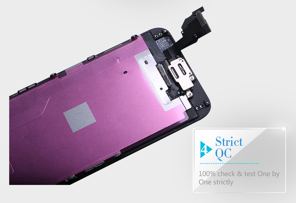 Full Assembly LCD Display for iPhone 5s 6s se 6 Touch Screen Digitizer Replacement with Home Button Front Camera Complete LCD
