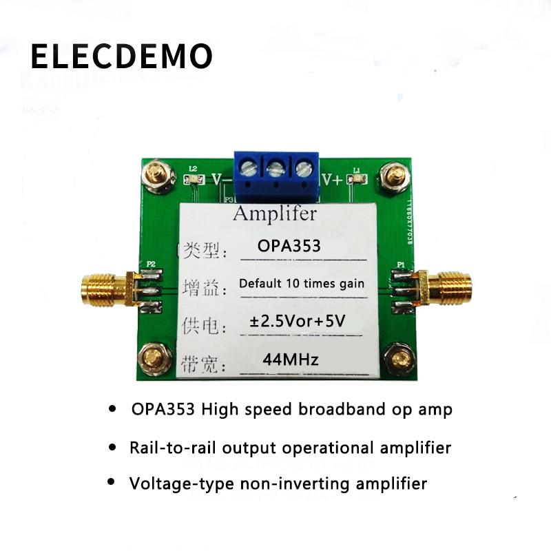 OPA843 Module High Speed Broadband Op Amps Voltage