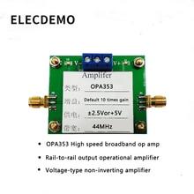купить OPA353 Module High Speed Broadband Op Amps Rail-to-Rail Operational Amplifiers Voltage Amplifiers In-Phase Amplifiers по цене 1232.84 рублей