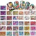 DULCE TENDENCIA 44 Diseños de Colores Del Arte Del Clavo de Transferencia de Agua Pegatinas Uñas Postizas Tatuajes Belleza Cubierta Completa Wraps Manicura BLE2535-2578