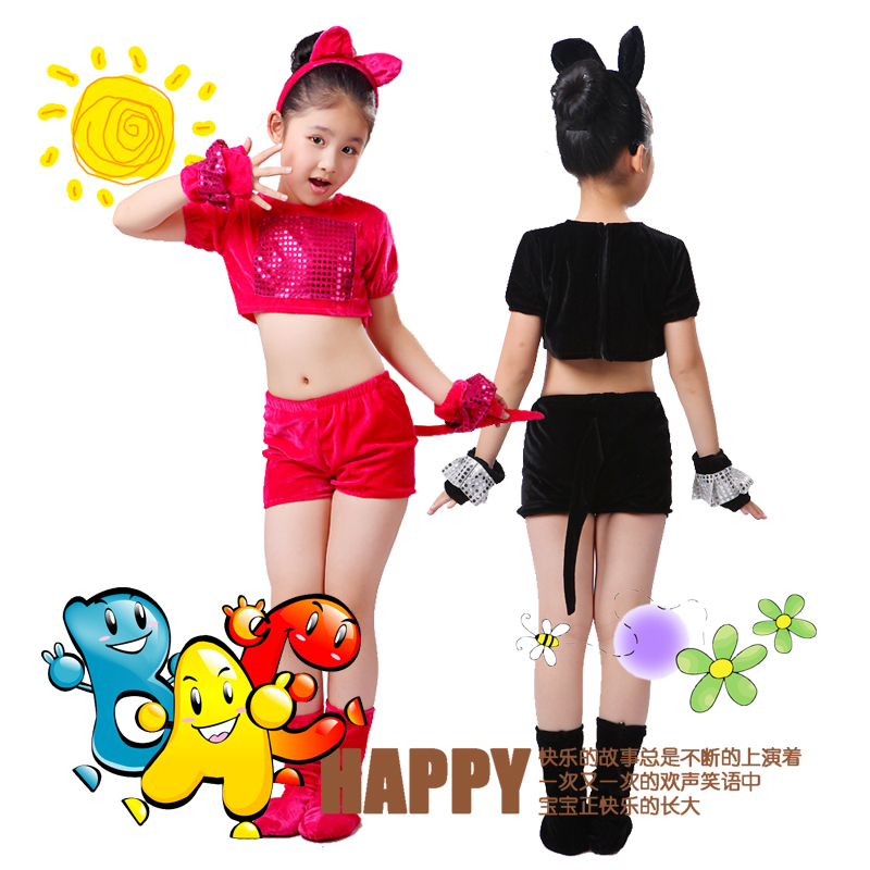 10sets Kids Animals Dance Clothing Baby Cat Dog Bunny Mice