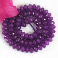Natural amethyst jade stone 2*4mm 5*8mm abacus faceted beads loose diy gift Jewelry B159