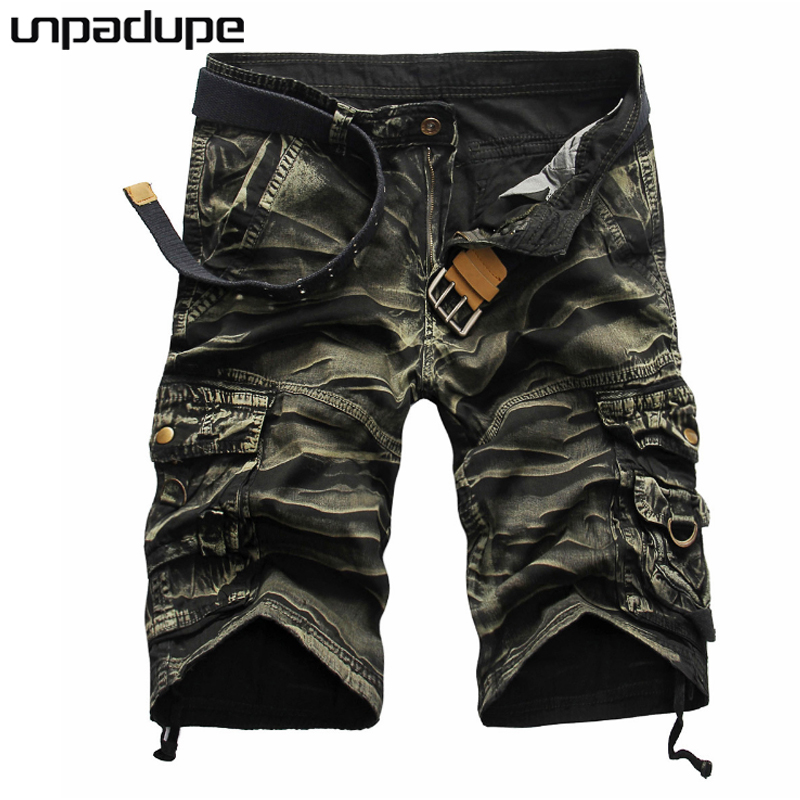 Unpadupe 2018 Mens Shorts Casual Bermuda Brand Compression 8 Color Male Cargo Shorts Men Linen Fashion Men Short Summer Hawaii