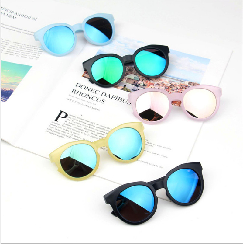 Brand 2019 New Fashion Kids Sunglasses Girls Lovely Baby Sunglasses Children Glasses Sun Glasses For Boys Gafas De Sol UV400 Hot