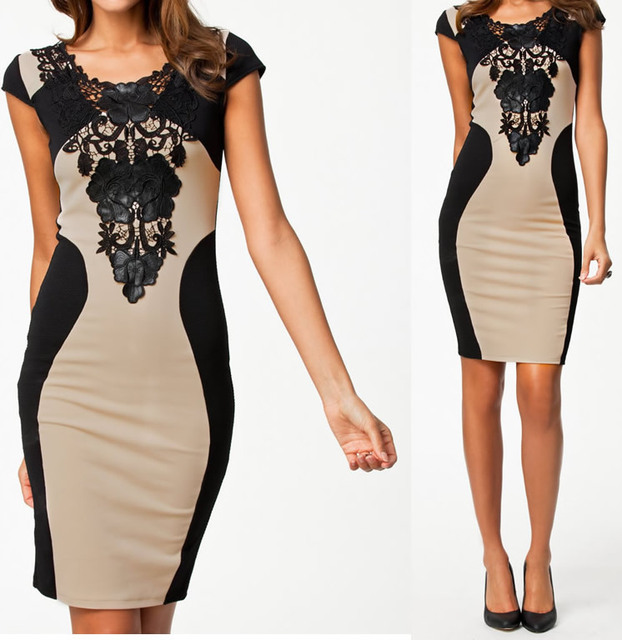 S-XXL Plus Size 2014 New Vestidos De Festa Women Embroidery Bodycon Bandage Dress Sexy Celeb Evening Party Dress  9055