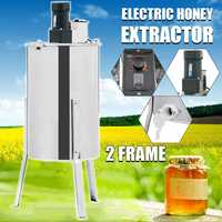 Bee Manual Honey Extractor Beekeeping Tool Box 2 Frame Electric Stainless Steel Beekeeping Equipment Honey Extractor Supplies