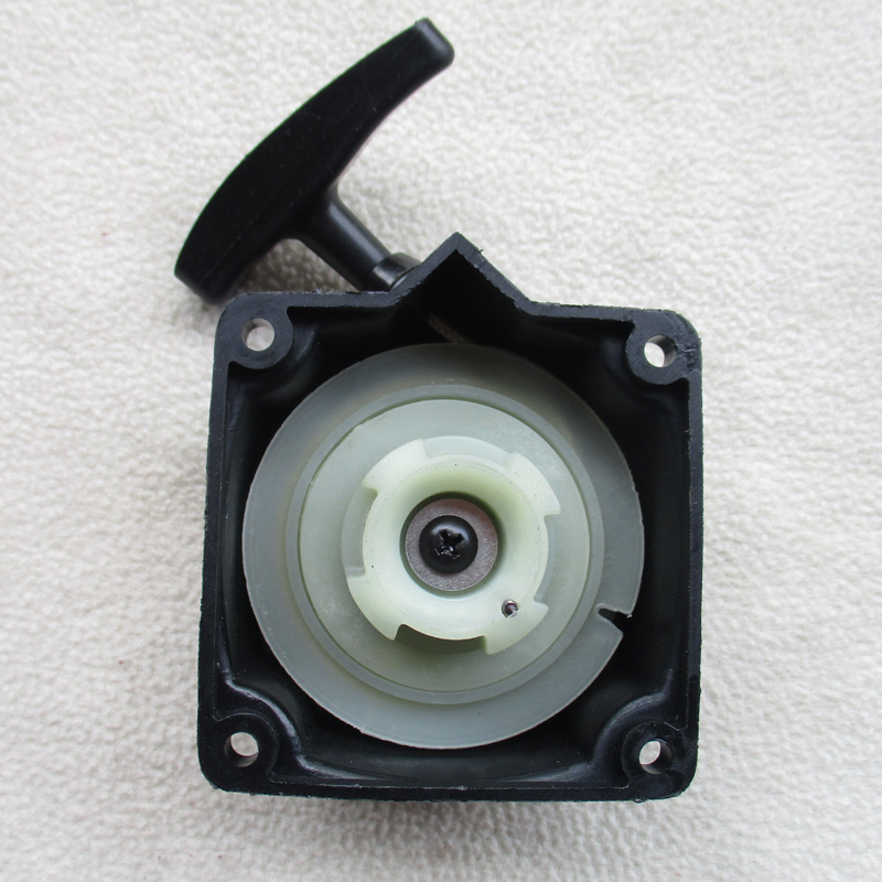 Practical Recoil Pull Starter With Flange Cup Set For Various Strimmer Brush Cutter