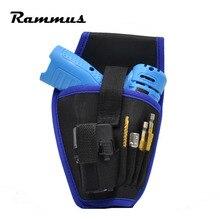 New Electrical 12V/18V Power Drill Holder Hand Drilling Tool Bag Waist Storage Cordless Belt Bag Pouch Pocket Car Repair Tool