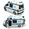 Сплава полицейский автомобиль 110 машин скорой помощи 120 отступить мигающий музыка мальчик автомобиль toys модель 1:32 детские toys коллекцию подарков