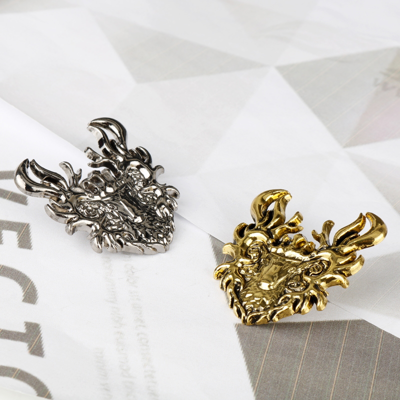 Wholesale Jewelry Movie Game Of Throne Brooches A Song of Ice and Fire Metal Lapel Pin Badge Brooch Accessories for Woman Men