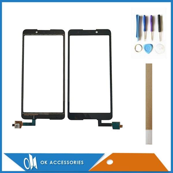For BQ BQ-5707G Next Music BQ 5707G BQ5707G Touch Screen Digitizer Panel Replacement Glass Touchscreen With Tools Tape