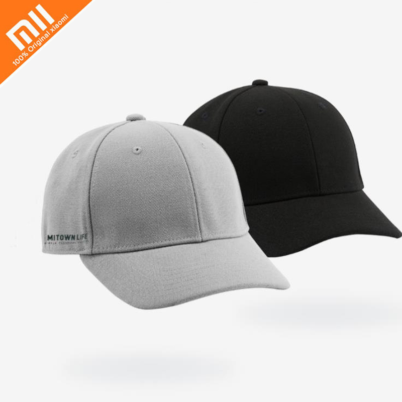 Original Xiaomi Mijia MITOWNLIFE Original Classic Baseball Cap Casual Fashion Simple Design Men's Hat Sun Hat Smart Home