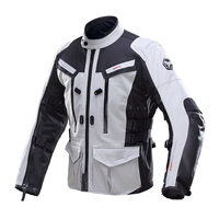 DUHAN Männer Moto Jacke Wasserdicht Motocross Ausrüstung Getriebe Baumwolle Unterwäsche kaltbeweis männer Tuch Körper Rüstung Motorrad Jacke