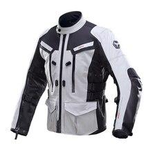 DUHAN Men Moto Jacket Waterproof Motocross Equipment Gear Cotton Underwear Cold-proof Men's Cloth Body Armor Motorcycle Jacket