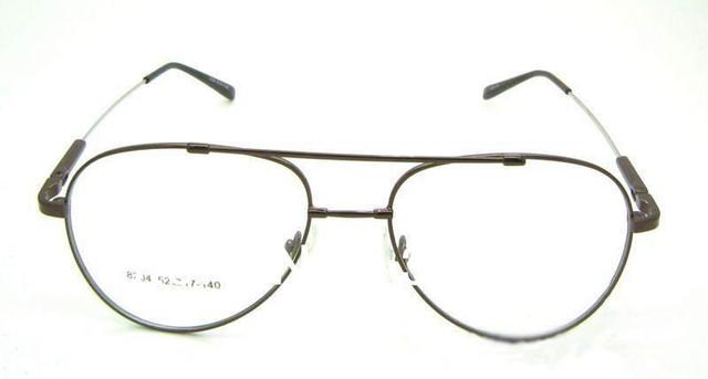 Más comprado aviatorr de memoria titanium 360 flexible grado bisagra del resorte del templo marco óptico anteojos recetados gafas rx