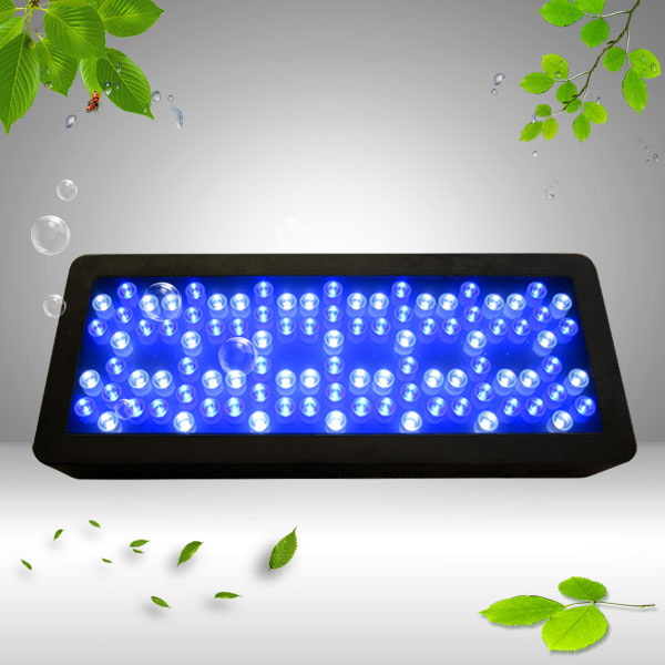 Hot 300W led aquarium light 98X3W Fish tank System for warehouse and aquarim tank dropshipping