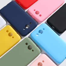 Candy Color Case For Huawei Y3 2017 Soft Silicone Back Phone for 2018 /Y3 CRO-U00 CRO-L22 L02 L03 Funda