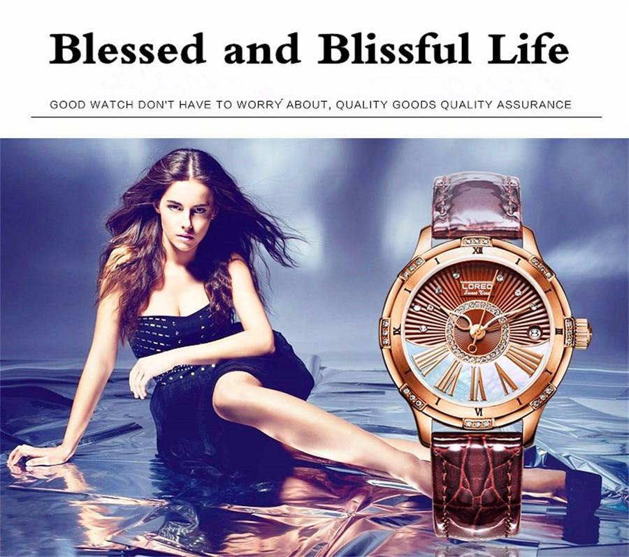 Marca de Luxo relógio de Pulso de
