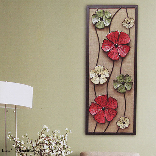 Fabric Decor Handmade Rustic Metal Flower Wall Plaque In Plaques Signs From Home Garden On Aliexpress Alibaba Group