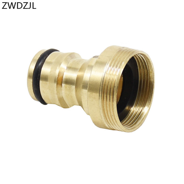 Garden tap adapter M22 threaded brass connector M24 water gun Faucet