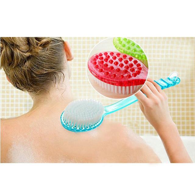 Hot Sale Bath Brush Scrub Skin Massage Health Care Shower Reach Feet Rubbing Brush Exfoliation Brushes Body for Bathroom Product