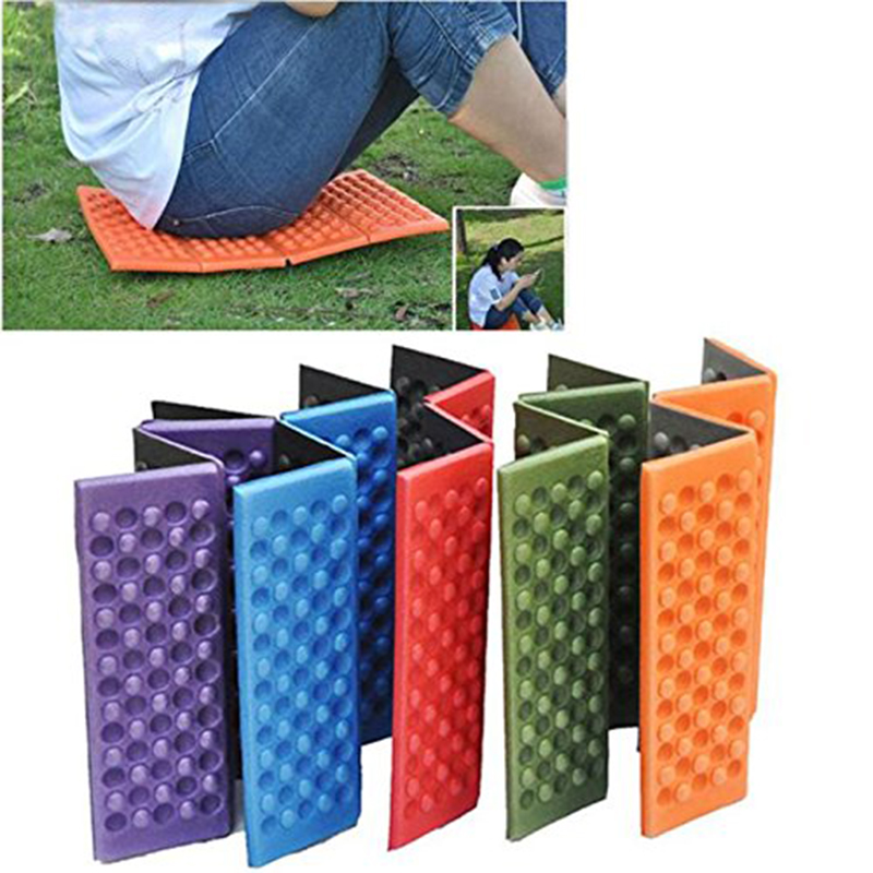 Foldable Folding Outdoor Camping Mat Seat Foam XPE Cushion Portable Waterproof Chair Beach Picnic Mat Seat Hiking Activities Pad