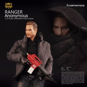Image 2 - Vortex Toys YEW Series Ranger Anonymous 1/12 Action Figure