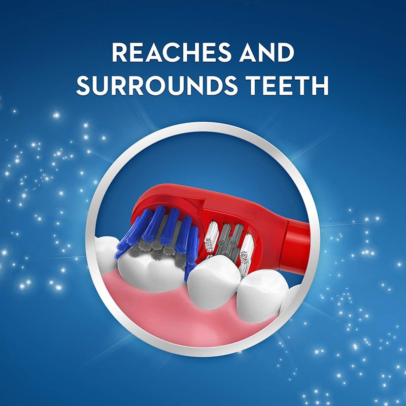 Image 3 - OralB Electric Toothbrush for Children Gum Care Rotation Vitality Cartoon Oral Health Soft Tooth Brush for Kids Battery Powered-in Electric Toothbrushes from Home Appliances