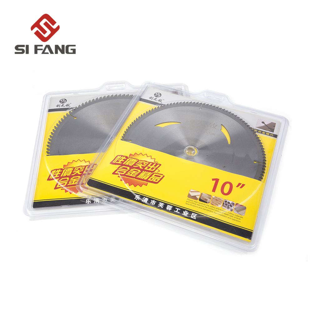250mm Carbide Wood Saw Blade 40T/60T/80T/100T/120T Universal Hard And Soft Multi-function Circular Saw Blade 255*25.4*1.8mm