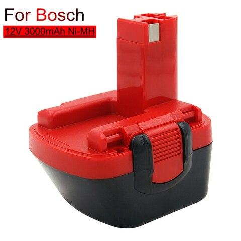 Recarregável da Substituição de Bat043 v para a Broca de Bosch Bateria Nimh Ni-mh 12 v Gsr12ve-2 Psr12ve-2 2607335273 Bat045 Bat120 3000 Mah