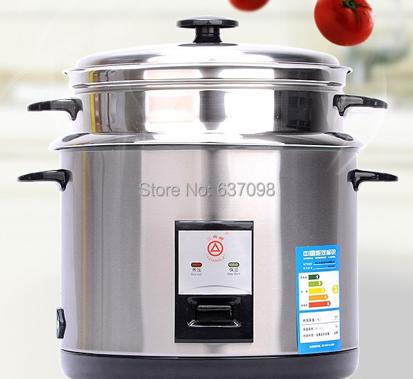 chinaguangdong Triangle CFXB-40G household mini electric stream rice cooker 2L full stainless steel 110-220-240v soup small cake