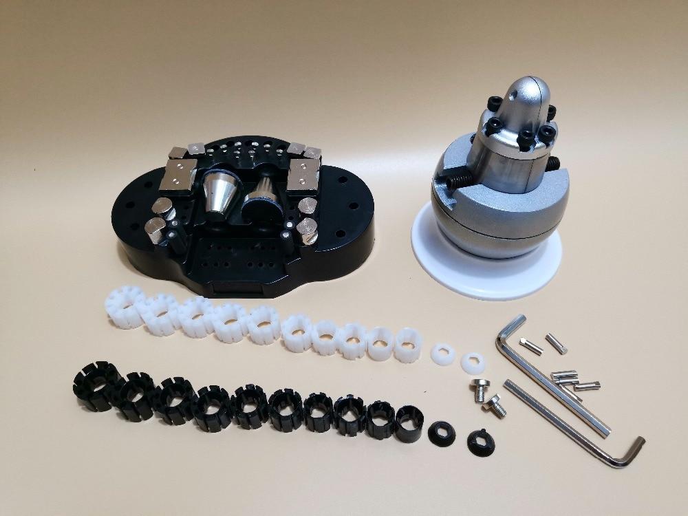 2018 GRS Standard Ball Vise with 20 Piece Attachment Mini Block Ring Setting Tools Diamond Stone Setting Ball Vise