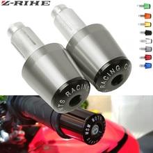 CNC 22MM Handlebar Grips Handle Bar Cap End Plugs For Suzuki Gsr 600 Sv650 GSXR 600 750 1000 Bandit 600 Intruder 800 kawasaki