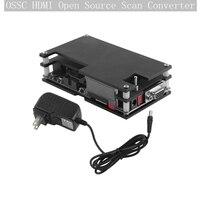 HD Converter Old Game Console HD Converter Box Set Game Host Video Converter for PlayStation 2 Sega Megadrive