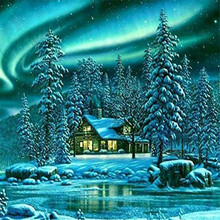 DIY Diamond painting cross stitch Painting Crafts Embroidery Decoration Gifts House 5D Mosaic