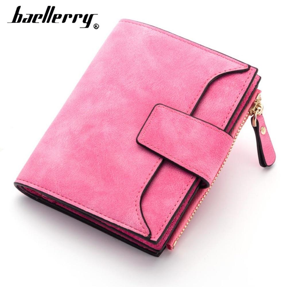 2018 Baellerry Frauen Geldbörsen Kurz Qualität Karte Halter Weibliche Geldbörsen Fashion Casual Zipper Multi-funktion Münze Marke Brieftaschen Spezieller Sommer Sale