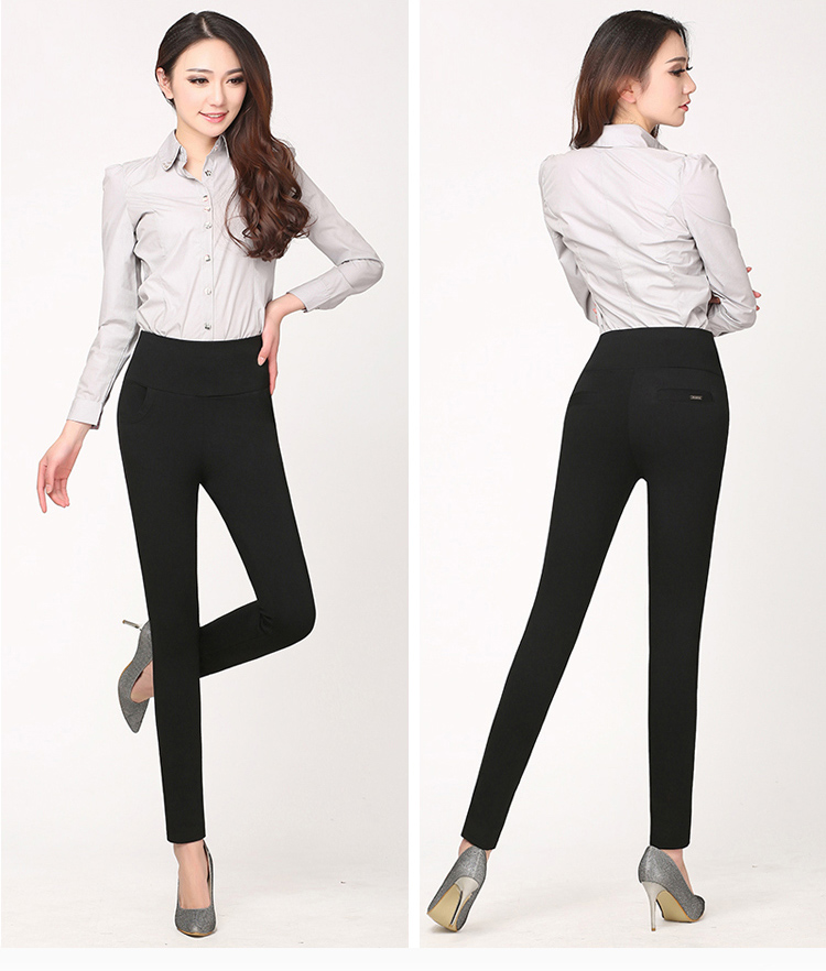 Hot! winter Thickening thick Velvet Products Elastic stretch pants - Women's Clothing - Photo 2